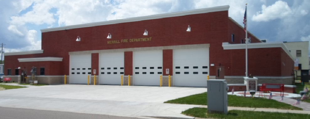 Merrill_Fire_station