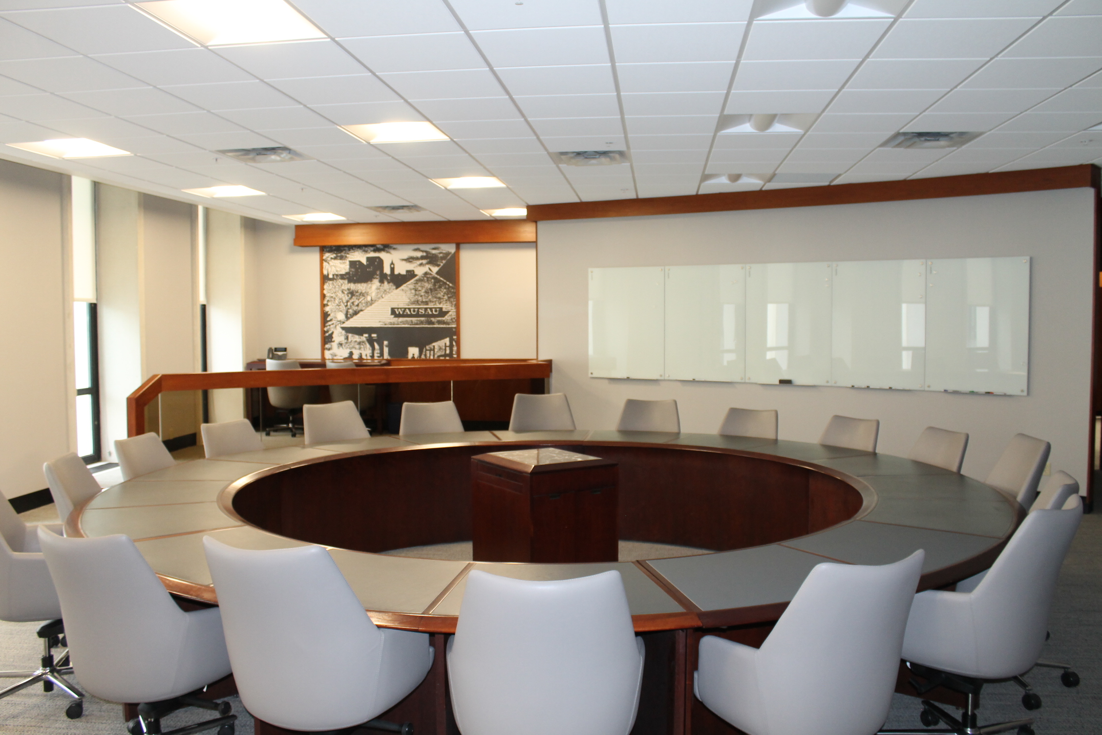 corporate office interior. Aspirus, Inc. Corporate Office Interior Renovations L